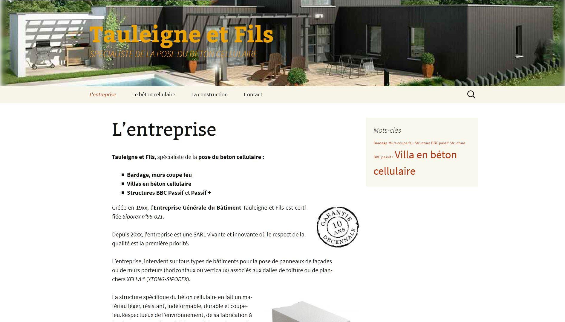 cr er son site internet pour auto entrepreneur. Black Bedroom Furniture Sets. Home Design Ideas